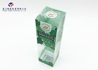 Home Fragrance Clear Plastic Box Packaging 0.3mm Material Thickness OEM / ODM